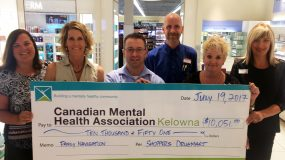 Local Shoppers Drug Mart Stores Donate $10,051 to Family Navigation