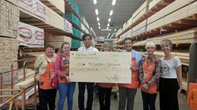 CMHA Kelowna receives $50,000 grant from The Home Depot Foundation Canada