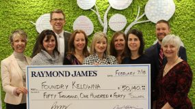 Raymond James shows big heart for youth
