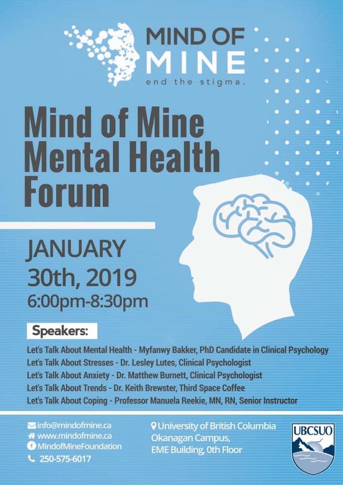 Mind Of Mine Mental Health Forum