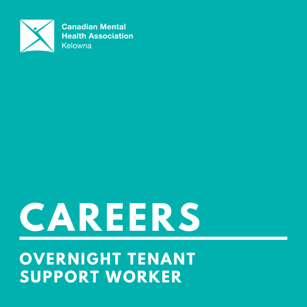 CMHA overnight tenant support worker (infographic)