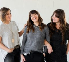 womens wellness shown by three ladies laughing together