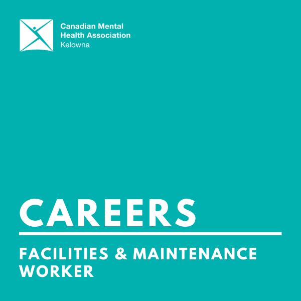CMHA facilities & maintenance worker (infographic)