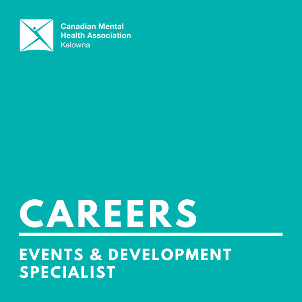 CMHA events & development specialist (infographic)