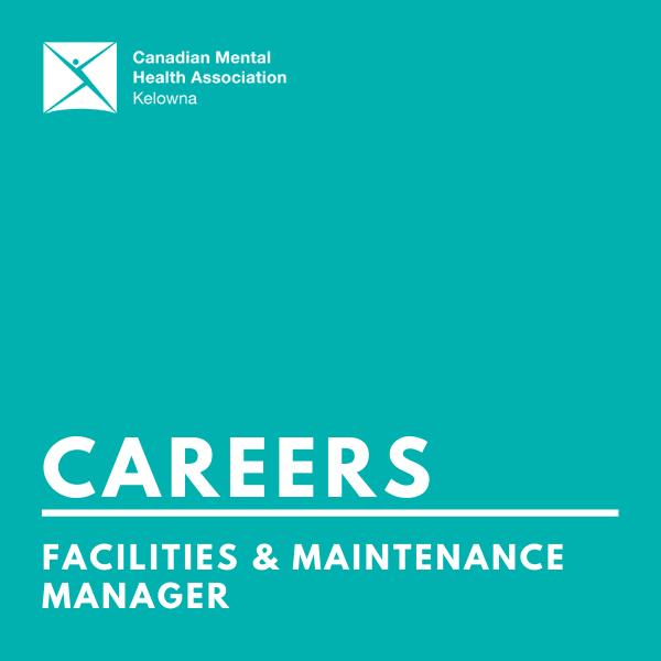 CMHA facilities & maintenance manager (infographic)